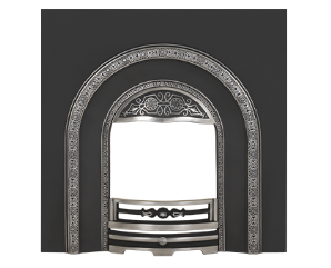 Lonsdale Arched Cast-Iron Fireplace Insert
